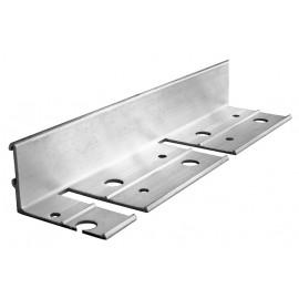 gala*AluFLEX38*Asphalt aus Aluminium 1 Meter